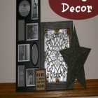 Ledge Decor...a Family Room Update