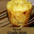 Spicy Corn Dog Muffins