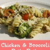 Chicken and Broccoli Pesto Pasta