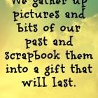 Scrapbook Quote