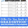 Who Do You Invite to Graduation