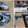 How to Make DIY Paper Mache Photo Letters