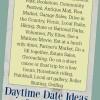 Daytime Date Ideas