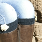 Easy DIY Boot Cuffs