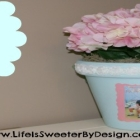 DIY Photo Flower Pot