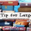 Travel Tip for Large Families