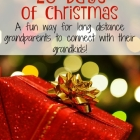 25 Days of Christmas Idea for Long Distance Grandparents