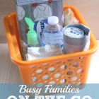 Car Basket Helps Busy Families Be Prepared