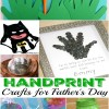 Handprint Gift Ideas for Father's Day
