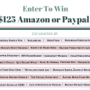 Fall Fun Giveaway for $125 Paypal or Amazon