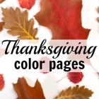 Thanksgiving Color Pages