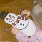 Build a Snowman Free Printables