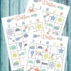 Weather Bingo Free Printable Cards