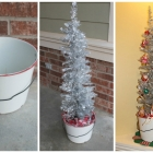 DIY Vintage Christmas Tree