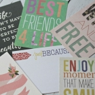 How to Make Your Own Project Life Inspired Cards in PicMonkey