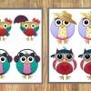 Owl Memory Game Printable