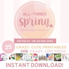 All Things Spring Bundle of GOODIES