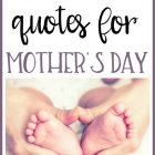 Best Adoption Quotes for Mother's Day