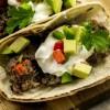 Weight Watchers Slow Cooker Steak and Bean Soft Tacos