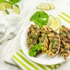 Grilled Mojito BBQ Chicken Tenders