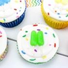 Mini Popsicle Cupcakes