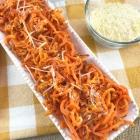 Parmesan Garlic Roasted Carrot Spirals