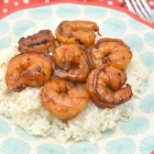 Soy Sauce and Honey Glazed Shrimp