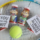 Motivational Tennis Snack Tags Printable