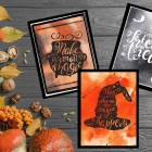 Free Printable Halloween Journal Cards