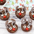 Reindeer Brownie Snacks