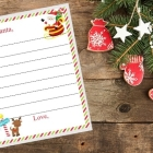 Santa's Address & Printable Letter to Santa