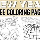 New Years Color Pages