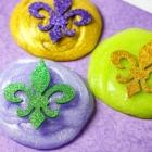 Easy DIY Mardi Gras Slime