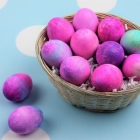 Easy Shaving Cream Easter Eggs