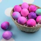 Easy Shaving Cream Easter Eggs