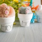 Bunny in a Pot Cricut Craft for Easter