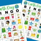 Printable Earth Day Bingo Cards for Class