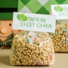 Free St. Patrick's Day Treat Bag Toppers