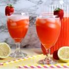 Homemade Sugar Free Strawberry Lemonade