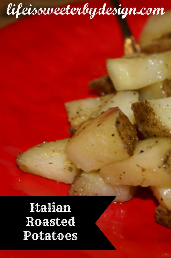Italian Roasted Potato Recipe