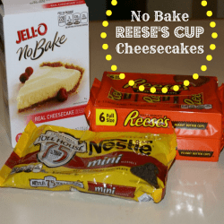 No Bake Reese's Cup Cheesecake Recipe