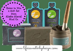 Gift Set by Alaska Glacial Mud Co. Giveaway