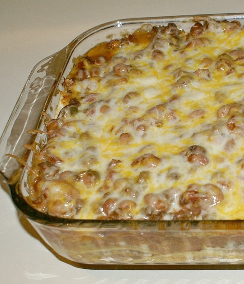 Easy To Adapt Mexican Casserole