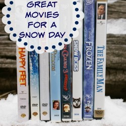 Movies for a Snow Day