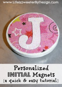 Personalized Magnet Tutorial