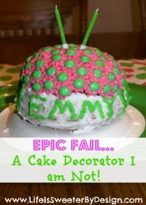 Cake Decorator I am Not