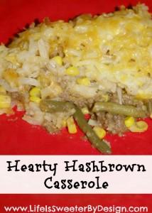 Hashbrown Casserole….a Hearty Twist