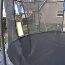 trampoline net repair made easy