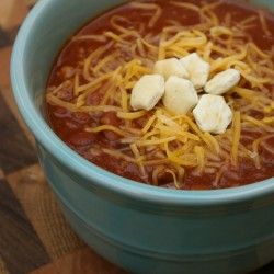 Triple Meat Chili