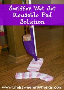 Swiffer Wet Jet Reusable Pad Solution